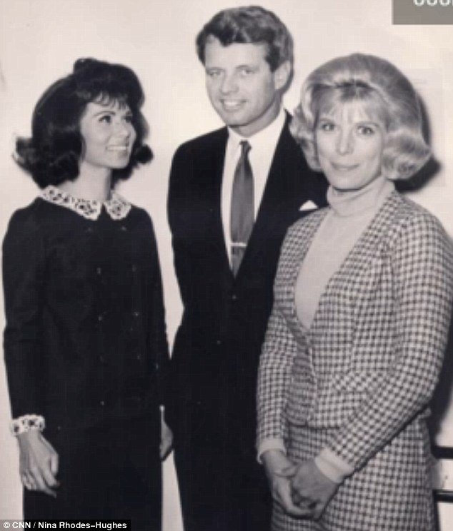 "Robert F. Kennedy was shot dead by two gunmen and not just ""lone wolf"" Sirhan Sirhan, claims Nina Rhodes-Hughes (left)"