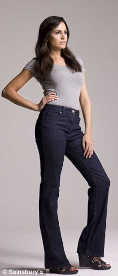 "Sainsbury's has launched Miracle Jeans, the ""latest innovation in shapewear"""