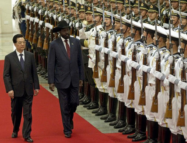 "South Sudanese President Salva Kiir says Sudan has ""declared war"" on his country, following weeks of fighting along their common border"
