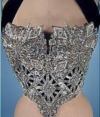 The highest-selling Whitney Houston item, a beaded bustier that had been sold during a 2007 court-ordered debt auction, drew $18,750