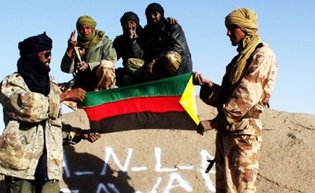 Tuareg rebels has declared independence for a northern Malian region called Azawad photo