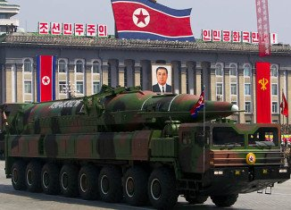 US has raised allegations with China that a missile launcher seen in Pyongyang last week was of Chinese origin