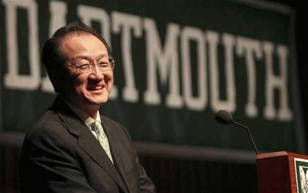 US nominee Jim Yong Kim has been chosen as the new president of the World Bank