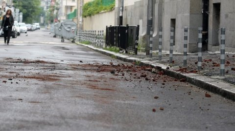 A 5.6 magnitude earthquake struck Bulgaria's capital Sofia early on Tuesday, causing residents to rush into the streets