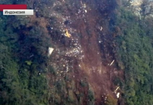 A number of bodies have been found by rescuers at the wreckage of Russian Sukhoi Superjet plane that crashed into mountains in Indonesia on Wednesday