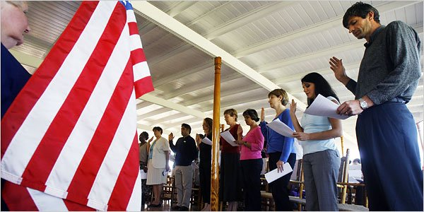 According to an American survey more than one third of U.S. citizens would fail the countrys citizenship test for immigrants photo
