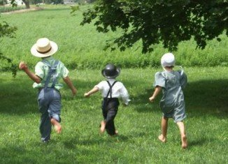 Amish children raised on rural farms in northern Indiana suffer from asthma and allergies less often even than Swiss farm kids, a group known to be relatively free from allergies