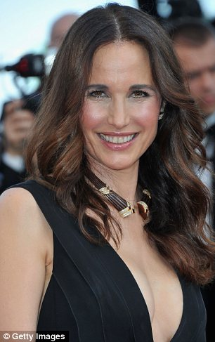 Andie MacDowell celebrated her 54th birthday last month but she certainly looks younger than her years photo