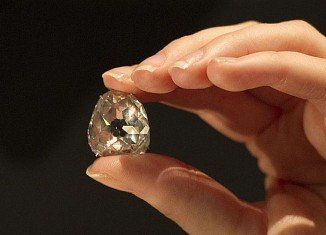 Beau Sancy, one of the world's oldest and most famous diamonds, has sold for $9.7 million at auction in Geneva