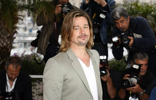 Brad Pitt has revealed that despite the recent announcement of his engagement to Angelina Jolie they have not set a date yet photo