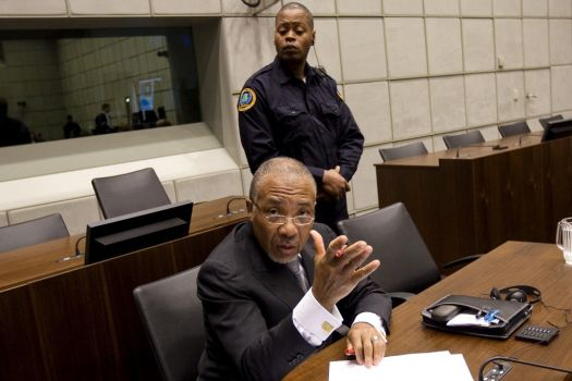 Charles Taylor the former Liberian president has accused the prosecution of paying witnesses to testify against him in his war crimes trial photo