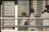 Chen Guangcheng is having a check-up at a Beijing hospital after he left US embassy