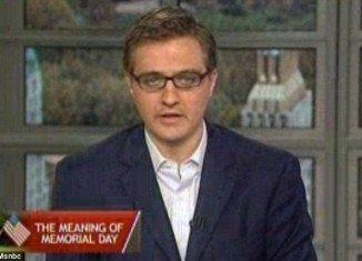 "Chris Hayes has caused outrage on Memorial Day by saying he feels ""uncomfortable"" branding soldiers who have died in battle ""heroes"