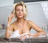 Courtney Stodden stripped her face bare to pose for a make-up free photo shoot