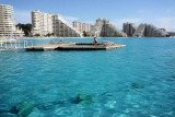 Crystal Lagoons, the Chilean company that creates immense crystalline lagoons as Guinness world record-holding swimming pool San Alfonso del Mar, and real estate company Sama Jordan inaugurated Dead Sea Lagoon near Aman