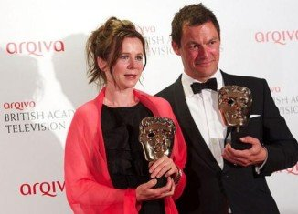 Dominic West and Emily Watson were among the big winners at the TV BAFTA Awards, winning for their powerful performances in Fred West drama Appropriate Adult
