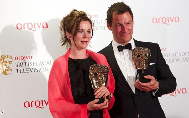Dominic West and Emily Watson were among the big winners at the TV BAFTA Awards winning for their powerful performances in Fred West drama Appropriate Adult photo