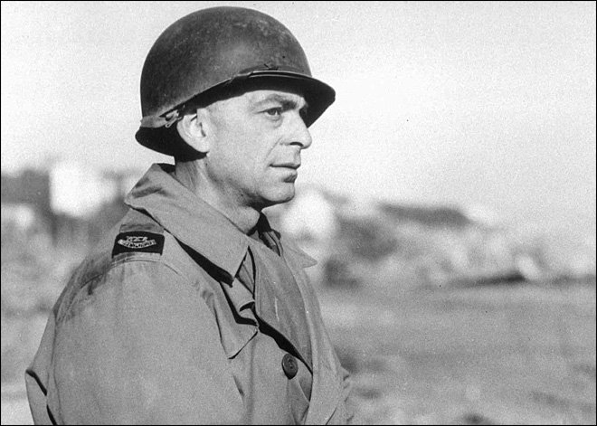 Ed Kennedy was one of 17 reporters taken to witness the formal surrender of German troops to the Allies at 02.41 on 7 May 1945