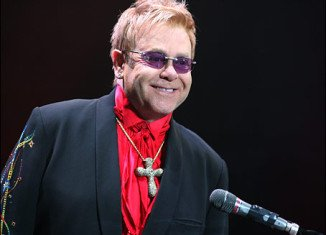 Elton John has been hospitalized with a serious respiratory infection