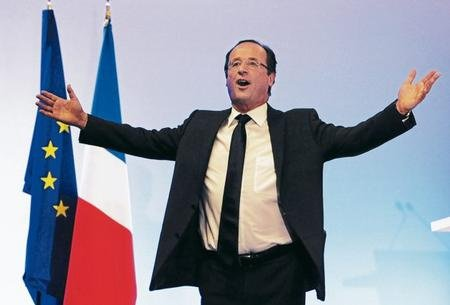 French Socialist Francois Hollande has been elected as new president, according to early estimates