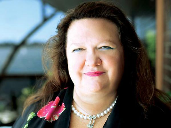 Gina Rinehart, 58, is now worth A$29 billion ($28 billion), having increased her wealth by nearly A$20 billion in a year