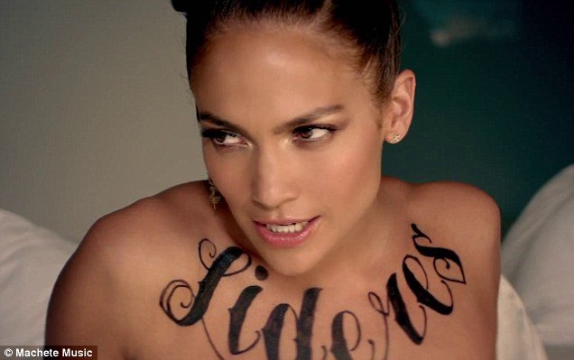 Jennifer Lopez presents her new video for her single Follow The Leader a collaboration with Puerto Rican reggaeton duo Wisin Yandel photo