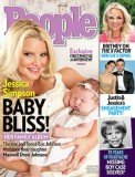 Jessica Simpson has posed up with her daughter Maxwell Drew Johnson on the cover of People magazine