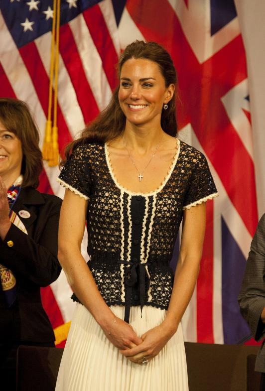 Kate Middle-Tan is what the Duchess of Cambridge has been called since her subtle color became the most requested spray tan shade
