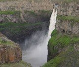 "Kayaker Rafael ""Rafa"" Ortiz took the plunge at Palouse Falls in Washington State, and paddled himself down the 189-foot fall"