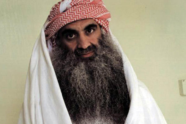 Khalid Sheikh Mohammed and other four men are accused of planning and executing the terror attacks of 11 September 2001, which left a total of 2,976 people dead