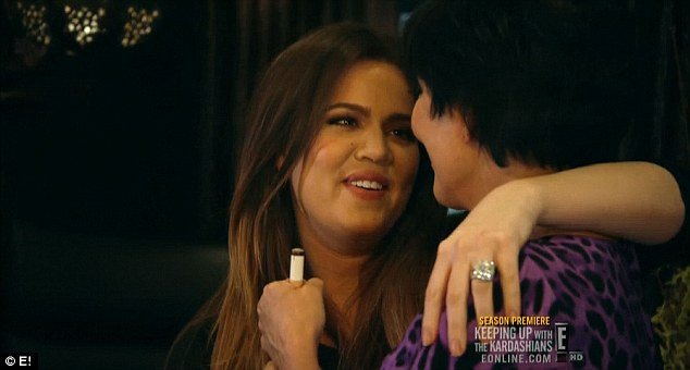 Kris Jenner and Khloe Kardashian make up and agree to drop the DNA test and forget about it