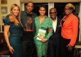 Last night Beyoncé and Jay-Z attended the launch party for friend Erica Reid's parenting book The Thriving Child
