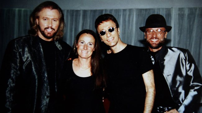 Lesley Evans the Gibb brothers' sister called herself the fourth Bee Gee but with a difference only the most devoted fans know she even exists photo