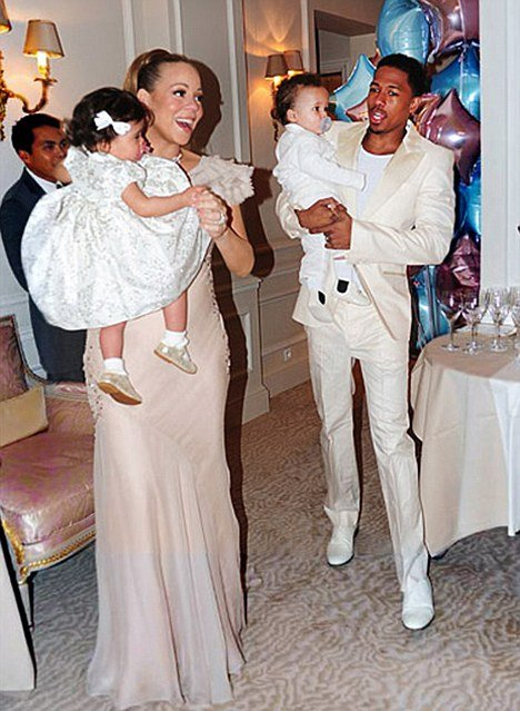 Mariah Carey and Nick Cannon's twins, Moroccan and Monroe, celebrated their first anniversary in Paris