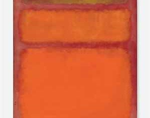 "Mark Rothko's artwork ""Orange, Red, Yellow"" has achieved the highest ever price for a piece of contemporary art at auction fetching $86.9M"