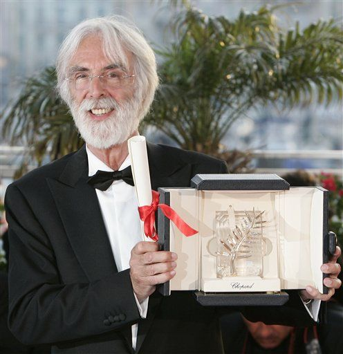 Michael Haneke has been awarded with the Cannes film festival's top prize for the second time as Amour (Love) is named winner of the Palme d'Or