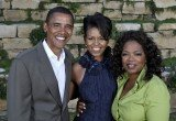 Michelle Obama objected to her husband's close relationship to Oprah Winfrey, claims Edward Klein in his new book, The Amateur