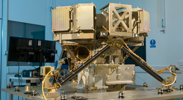 Mid-Infrared Instrument (MIRI), one of Europe's main contributions to the James Webb Space Telescope (JWST) is built and ready to ship to the US