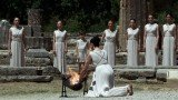 Olympic flame which will be used for the London 2012 torch relay has been lit during a ceremony in Olympia, Greece