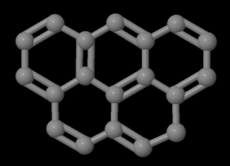 Olympicene molecule, just over a billionth of a metre across, gets its name because its five linked rings resemble the Olympic symbol