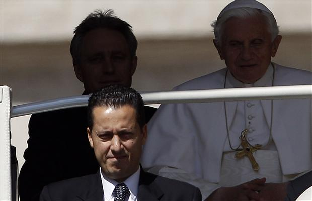 Paolo Gabriele, Pope Benedict's butler, has been formally named as a suspect in the Vatican's inquiry into a series of media leaks from the Church's highest levels