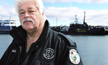 Paul Watson the founder of US based anti whaling group Sea Shepherd has been arrested in Germany photo