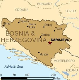 Police arrested the couple who enslaved the German girl in Bosnia-Herzegovina's Tuzla region after a neighbor tipped off the authorities