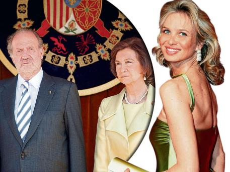 Princess Corinna, who was born in Germany and claims her title through her second husband, has reportedly fled Spain intense speculation over the nature of her role within the Spanish monarchy