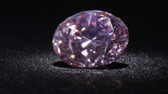 Rare pink diamond Martian Pink is expected to fetch at least $8 million when it goes under the hammer in Hong Kong