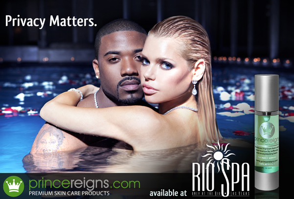 Ray J is officially the new face of Prince Reigns shaving serum