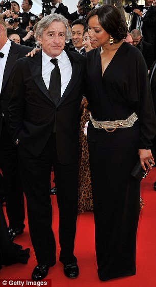 Robert De Niro and his wife Grace Hightower made a rare red carpet appearance together at Cannes Film Festival on Friday
