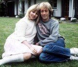 Robin Gibb and his wife Dwina Waterfield in 1983