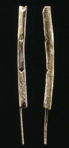 Scientists used carbon dating to show that the flutes were between 42,000 and 43,000 years old