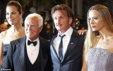 "Sean Penn stunned guests at Haitian Relief Organization Gala with his expletive-ridden speech, which he confessed was made ""under the influence of vodka"""